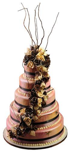 Ice Cream Wedding Cakes...