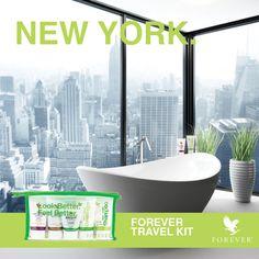 """UN JOUR J'IRAI À NEW YORK AVEC TOI !!!"" FOREVER TRAVEL KIT #3"