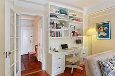 nice desk & shelves