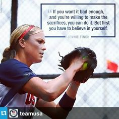 Best Ideas For Sport Quotes Softball Jennie Finch Softball Memes, Softball Drills, Softball Coach, Baseball Quotes, Softball Players, Girls Softball, Fastpitch Softball, Softball Stuff, Softball Sayings