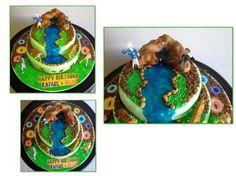 Wild Kratts Cake   Parties   Pinterest