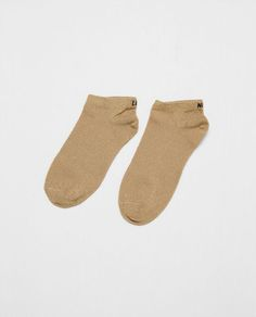 ZARA - WOMAN - PACK OF 2 PAIRS OF SOCKS WITH TEXT DETAIL
