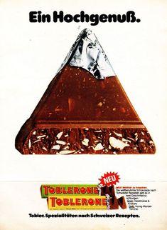 Werbung Toblerone 1979