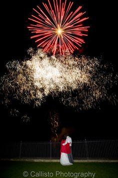 Fireworks at Kingscote Barn Wedding | Kingscote Barn | Summer Wedding | Cotswolds | Fireworks | Sparklers
