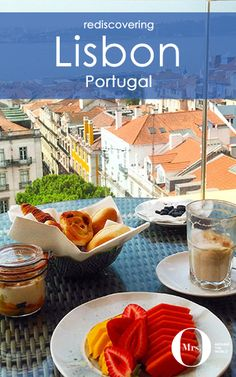 There is nothing like a good Portuguese breakfast, especially when paired with fab views. One of my favourite places in Lisbon is the rooftop terrace at the Bairro Alto Hotel.