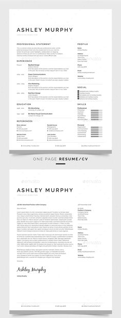 Damien Resume Design Carnationdamien Auf Pinterest