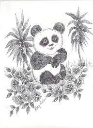 panda bear drawing - Google Search