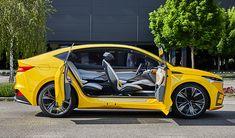 Skoda Vision iV - Al volante della concept elettrica Ferrari, Lamborghini Huracan, Bugatti, Volkswagen, Porsche, Sweet Cars, Electric Car, Mercedes Amg, Old Cars