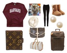 """Going to London for Thanksgiving"" by kindle-fire on Polyvore featuring J.Crew, Oasis, UGG Australia and Louis Vuitton"