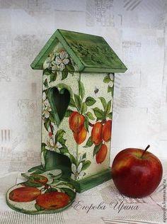 Кухня ручной работы. Ярмарка Мастеров - ручная работа Чайный домик  Яблони в цвету. Handmade.