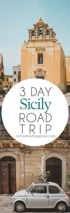 3 day Sicily road trip itinerary: food, city life & beaches - My Food & Happiness Europe On A Budget, Europe Travel Tips, Italy Travel, Visit Sicily, Southern Italy, Boat Tours, City Life, Where To Go, Beaches