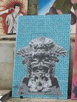 Random Descriptions of My Travel Adventures: Oaxaca Street Art Competition - July 2008