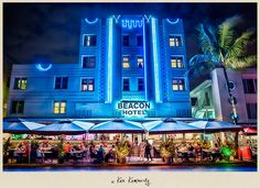 This is my favorite hotel in  SOBE  SoBe Beacon Hotel!
