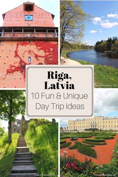These are my top 10 favorite Riga day trips to experience more of what beautiful Latvia has to offer. From national parks and untouched beaches to beautiful palaces and charming country towns, here are my top 10 favorite Riga day trips. Places To Travel, Travel Destinations, Places To Visit, Travel Europe, Riga Latvia, Amazing Adventures, Halloween, Travel Inspiration, Travel Ideas