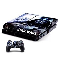 Star Wars High Premium Designer Limited Edition PS4 Skin  2 Free PS4 Controller Skins.