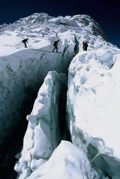 yolo because they are waking over a bottomless hole when they could have just taken the long way around
