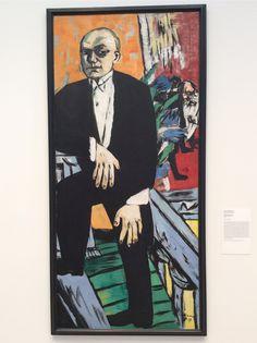 Max Beckman - Self portrait