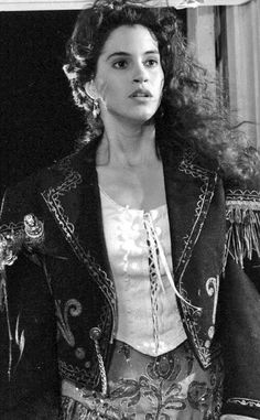 "Jami Gertz as Star in ""The Lost Boys"". I absolutely idolized her as a kid. Wore my long, curly hair black for years because of her. The epitome of gorgeous to me as a kid. this look. Her style. Amazing Tells alot! Lost Boys Movie, The Lost Boys 1987, Lost Boys Costume, Boy Costumes, Chucky Costume, Star Costume, Costume Ideas, King Kong, Old Movies"