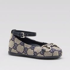 Gucci ballet slippers for a baby girl! <3
