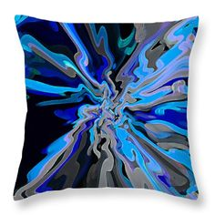 Blue Throw Pillows Decorative Accent Cushions For Sale On-line. original art painting, printed onto both sides of Throw Pillow. Cushion includes Insert. Machine wash. Zip close. Painting by Award-Winning Artist RjFxx Honored with 237 Art Awards.Size 14 Wide x 14 High inches. Fast Worldwide Shipping. Money Back Guarantee. All sizes available in store. Size 14 x 14 inches Price $34.99