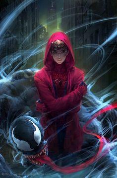 Spiderman Images, Deadpool X Spiderman, Marvel Images, Spiderman Art, Marvel Dc Movies, Marvel Funny, Marvel Heroes, Marvel Characters, Marvel Avengers