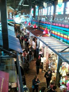 Ottawa - Byward Market- Inside the Pavillion-