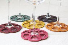 Wine Fabric Coaster