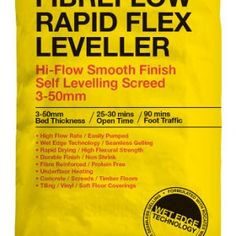 Best Buy Pallet Deals on ROCATEX Fibreflow Rapid Flex Leveller. It's a free flowing, rapid setting, fibre reinforced, highly flexible self levelling smoothing screed, blended from a mixture of the highest quality raw materials. We are bulk buy specialists at Buythepallet.co.uk so we always offer the best deals. #buythepallet #rocatex #floorleveller #floorlevellingcompound Electric Underfloor Heating, Underfloor Heating Systems, Buy Pallets, Soft Flooring, Tongue And Groove, Cool Things To Buy, Stuff To Buy, Raw Materials, Flexibility