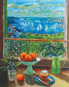Margaret Olley, Still Life and Rushcutters Bay, 1999