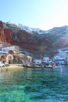 Ammoudi Bay - Santorini, Greece