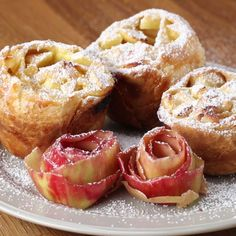 Mini Vanilla Apple Strudels