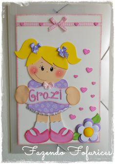 Fazendo Fofurices : Caderno Decorado e Pasta decorada **Crianças**