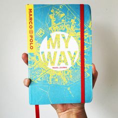 MY WAY Travel Journal - (CityMap Cover) £7.99 Available to buy here: - http://www.marco-polo.com/shop/traveljournals/detail/read/my-way-marco-polo-travel-journal-citymap-cover.html