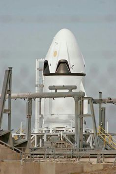 Prototype of SpaceX's Dragon manned capsule