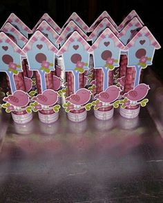 Baby Memories, Bird Cage, Diy And Crafts, Mickey Mouse, Projects To Try, Baby Shower, Birds, Birthday, Party