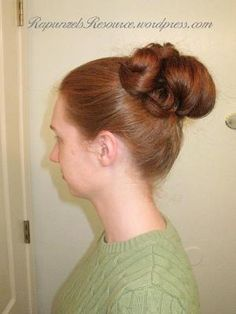 "A tutorial for the hairstyle worn by Gwyenth Paltrow in Emma during the ""Proposal"" scene."