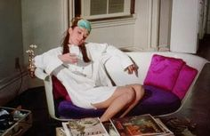 This Charming Dame Lesson 7 - Wear Pajamas.  Audrey Hepburn in Breakfast at Tiffany's
