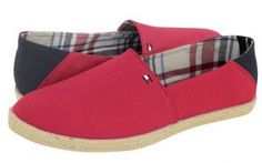 espantrigies kokkino red tommy mens summer shoes