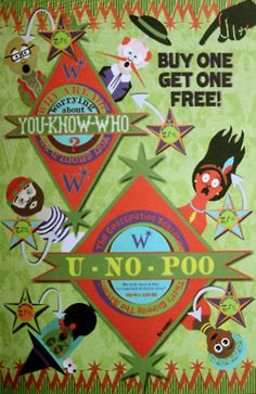 Why are you worrying about You-know-who? You should be worrying about U-no-poo! The constipation sensation  that's gripping the nation.