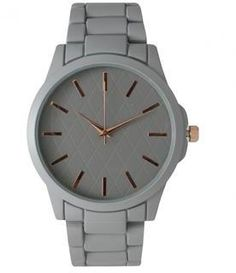 Check out our Sleek NEW Modera Watch. This numberless, uber chic watch is perfect for day or night. Comes in three neutral matte colors so you can mix and match it with all your looks. Our Matte Grey Bracelet Clasps, Link Bracelets, Bracelet Watch, Ily Couture, Online Watch Store, Photo Jewelry, Michael Kors Watch, Watch Bands, Women's Accessories