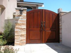 Wood Gates, Heavy Duty Hinges, Double Gate, Thick Body, Front Gates, Garden Gates, Succulents Garden, Custom Wood, Tall Cabinet Storage