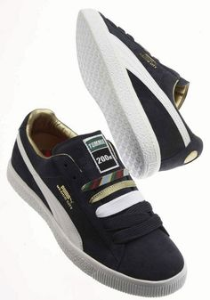 PUMA CLYDE X TOMMIE SMITH - NAVY