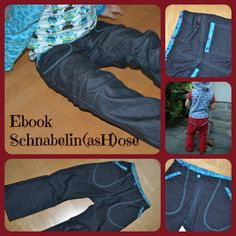(D) Schnabelinas Welt: Ebook Schnabelin(asH)ose online Sewing Pants, Sewing Kids Clothes, Sewing For Kids, Free Sewing, Toddler Sewing Patterns, Diy Vetement, Couture Sewing, Kids Pants, Online Gratis
