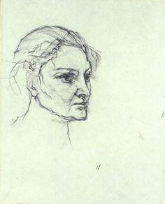 Oskar Kokoschka Alma Mahler ca. 1913