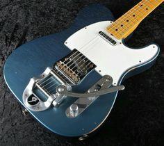 Blue fender telecaster