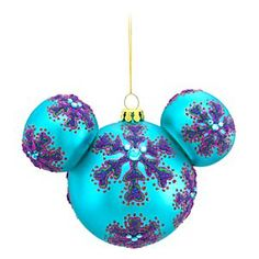 Disney Mickey Mouse Ornament | Disney StoreMickey Mouse Ornament - Celebrate the holidays with a festive folk art flair when hanging this blue bohemian Mickey Mouse Ornament on the family tree. Vivid colors and glittering gems highlight intricate handcrafted patterns to put the ''arty'' in your party!