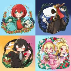 Mahoutsukai no Yome-The Ancient Magus' Bride.
