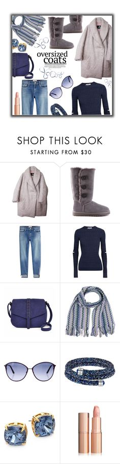 """Over-sized Warmth"" by jckallan ❤ liked on Polyvore featuring Etrala London, UGG Australia, Frame, Jil Sander, A.N.A, Missoni, Tom Ford, Swarovski, Tory Burch and oversizedcoats"