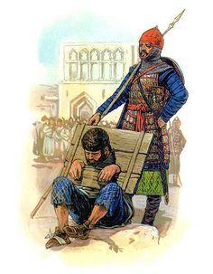 A Byzantine soldier in Turkish captivity after Manzikert