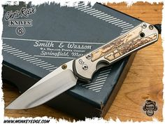 Monkey Edge - Chris Reeve Knives: Sebenza 21 Small Inlay - Mammoth Bark